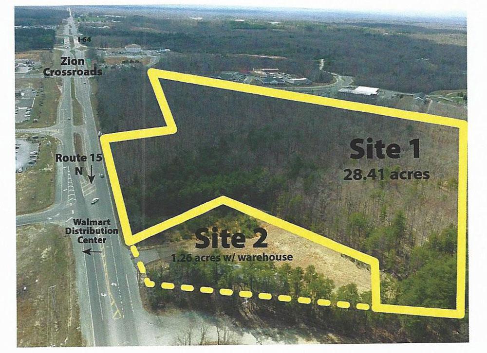 Route 15 Zion Crossroads